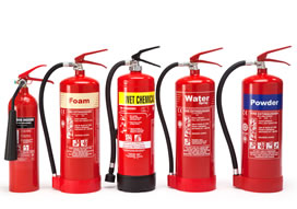 DCP-CO2 -Water Fire Extinguishers