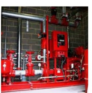 Fire Pump and Hose Reel System