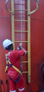 Cabloc- Ladsaf Vertical Fall Protection System